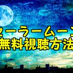 セーラームーンのアニメ動画・映画を無料フル視聴!パンドラやアニチューブで観れる?