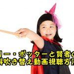 ハリーポッターと賢者の石の無料動画を日本語吹き替え付きフル視聴!パンドラで観れる?